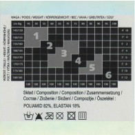 ELLA GEMUSTERTE DAMENSTRUMPFHOSEN * NEUE KOLLEKTION * 40/20 DEN * XL/5 - 2XL/6 *