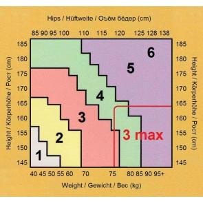 CLAUDIA DURCHSICHTIGE  MATTE STRUMPFHOSEN * 20 DEN * S/2 - XL/5 *