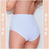 ELA BEIGE MITEX WOMAN SEAMLESS PANTIES UNDERWARE * S - 5XL *