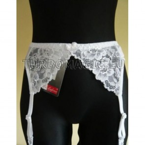 136 DE LAFENSE WOMAN LACE SUSPENDER GARTER BELT STOCKING * S/36 - XXL/44 *