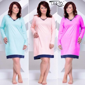 TATIANA 482/892 TARO WOMAN NIGHTDRESS COTTON 100% * S - 6XL *