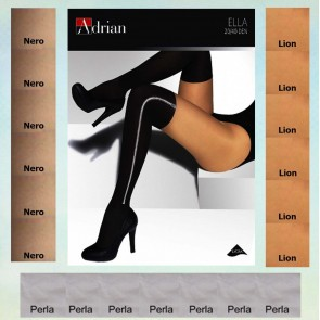 ELLA PATTERNED TIGHTS FOR LADIES * NEW COLLECTION * 40/20 DEN * XL - 2XL/6 *