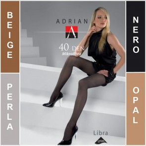 LIBRA ADRIAN MATT LADIES TIGHTS * 40 DEN * 2/S - 6/XL*