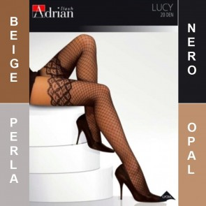 LUCY ADRIAN PATTERNED LADIES TIGHTS  * 20 DEN * 2/S - 6/XL*