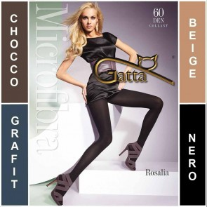 ROSALIA GATTA MATT MICROFIBRA LADIES TIGHTS  * 60 DEN * 2/S - 5/XL*