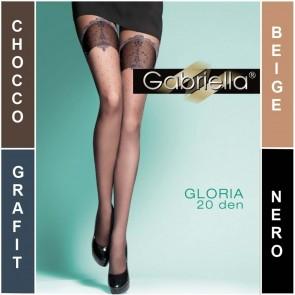 GLORIA COLLANTS POUR DAMES À MOTIFS * 20 DEN * 2/S - 4/L *