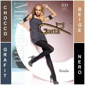 ROSALIA GATTA COLLANTS POUR DAMES EN MICROFIBRE * 100 DEN * 2/S - 5/XL *