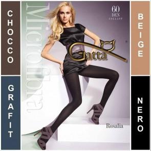 ROSALIA GATTA COLLANTS POUR DAMES EN MICROFIBRE * 60 DEN * 2/S - 5/XL *
