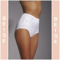 ALA BEIGE MITEX WOMAN SEAMLESS PANTIES UNDERWARE * S - 5XL *