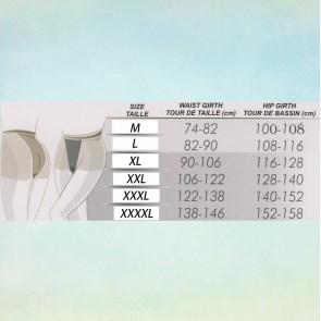 PERLA PANTYHOSE FOR WOMEN WITH CURVY SHAPES * 40 DEN * XL - 4XL