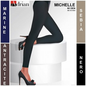 MICHELLE LEGGINS FOR LADIES * 60 DEN * 1/XS - 8/4XL *