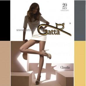 CLAUDIA TRANSPARENT MATT PANTYHOSE FOR WOMEN * 20 DEN * S/2 - XL/5 *