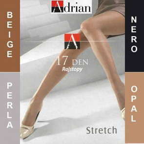 STRETCH ADRIAN LADIES TIGHTS  * 17 DEN * 2/S - 6/XL *