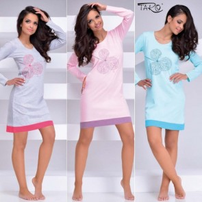 VIVA 1030 TARO WOMAN NIGHTDRESS COTTON 100% * S - 6XL *